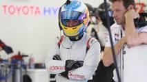 #8 Toyota Gazoo Racing Toyota TS050-Hybrid: Fernando Alonso with Alex Wurz, Toyota Racing
