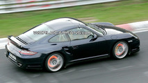 Porsche 911 Turbo Facelift Spy Photos on the Ring
