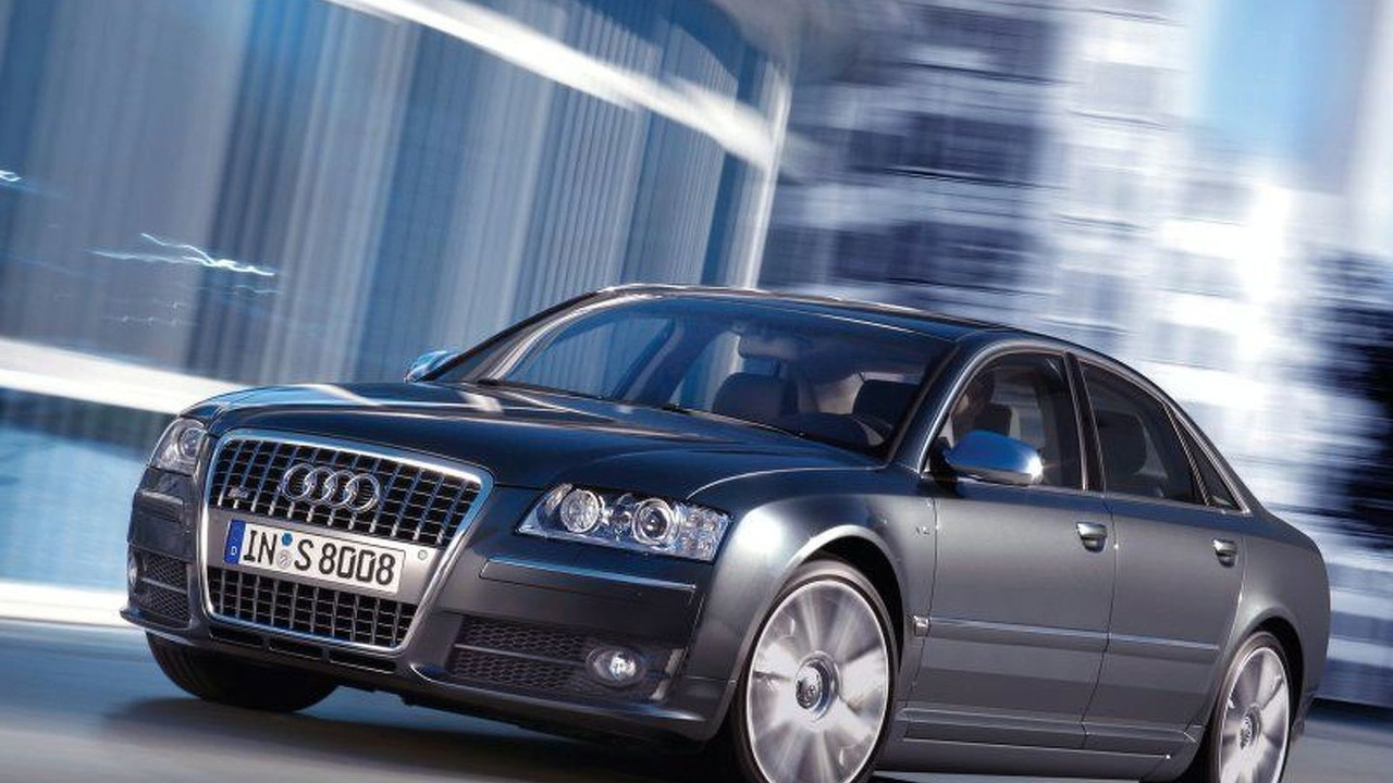 New Audi S8 quattro