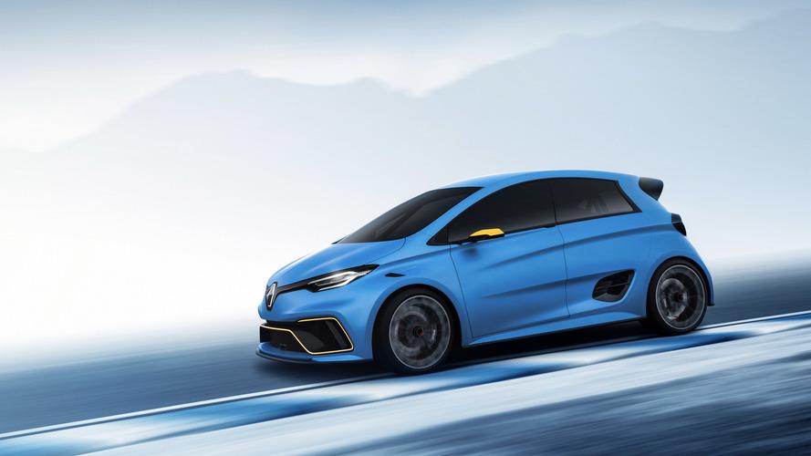 Elektrikli cep roketi: Renault Zoe E-Sport Concept