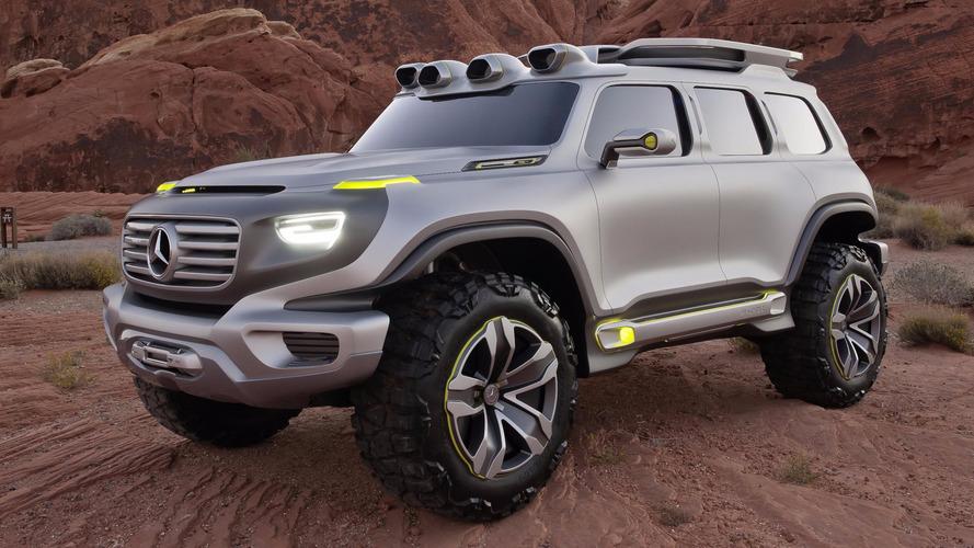 Mercedes-Benz - Le SUV GLB sera lancé en 2019