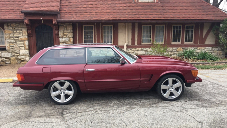 Sweet 1979 Merc 450SL Shooting Brake Selling At No Reserve