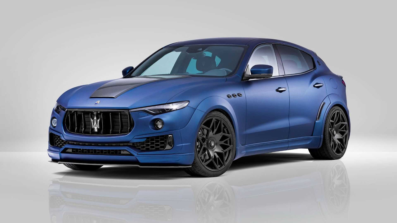 Maserati Levante By Novitec Motor1 Com Photos