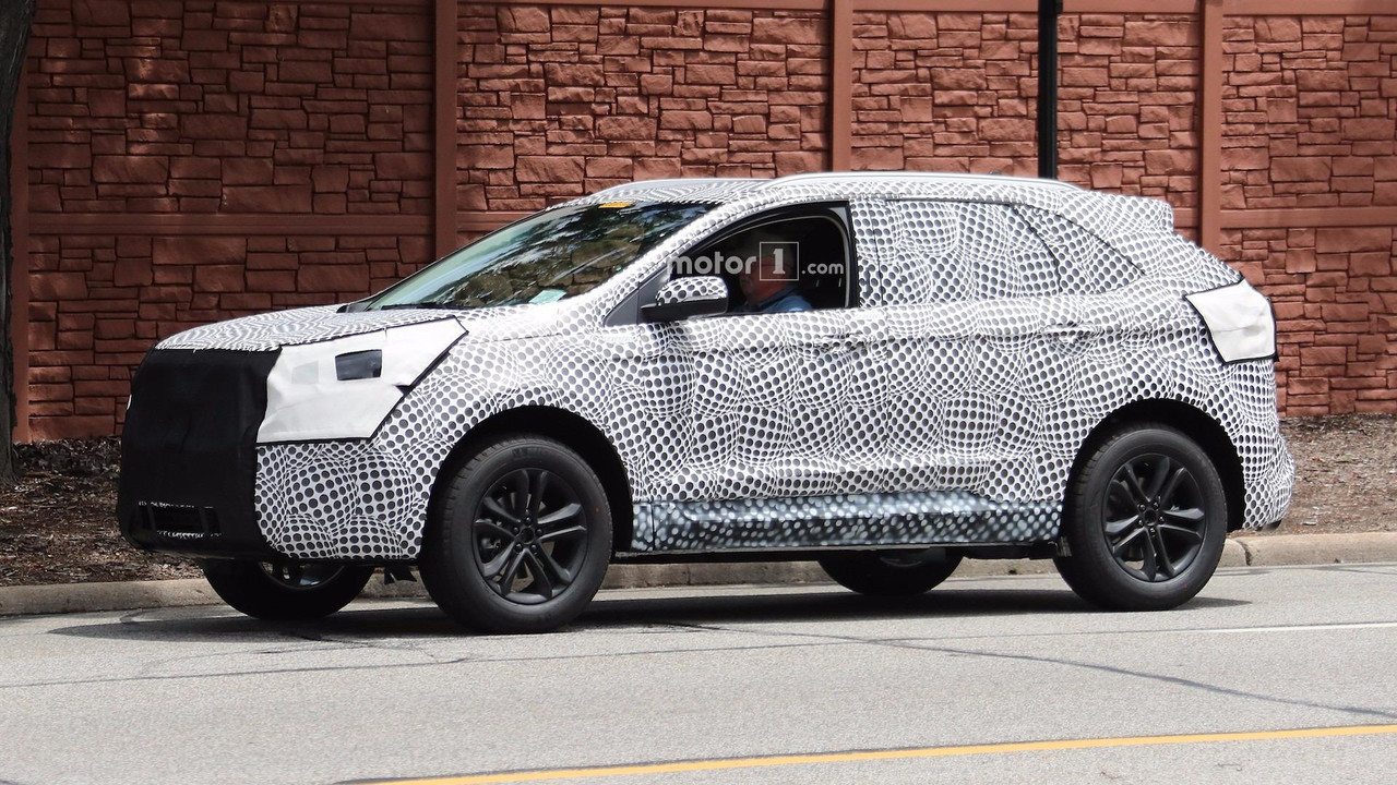 Sharper 2019 Ford Edge Spied Testing Near Dearborn