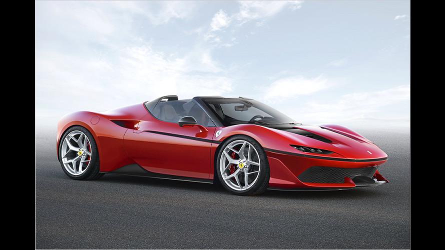 Ferrari J50: Nur zehn Exemplare