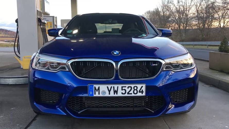 The New BMW M5's Launch Control Will Pulverize Your Kidney Stones