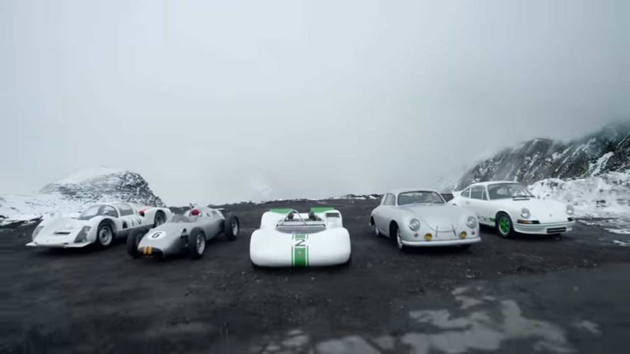 Porsche Showcases Its Top 5 Lightest Cars In The Austrian Alps
