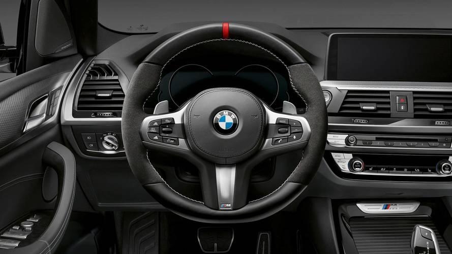 BMW X3 y X4 con kit M Performance