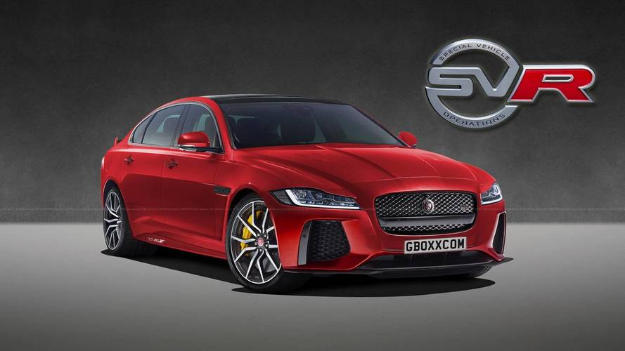 Jaguar XF SVR Render Makes Us Wish It Were The Real Deal