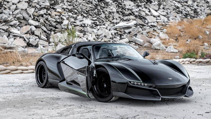 Rezvani Beast Alpha X Blackbird Is 700-HP Spy Plane For The Road