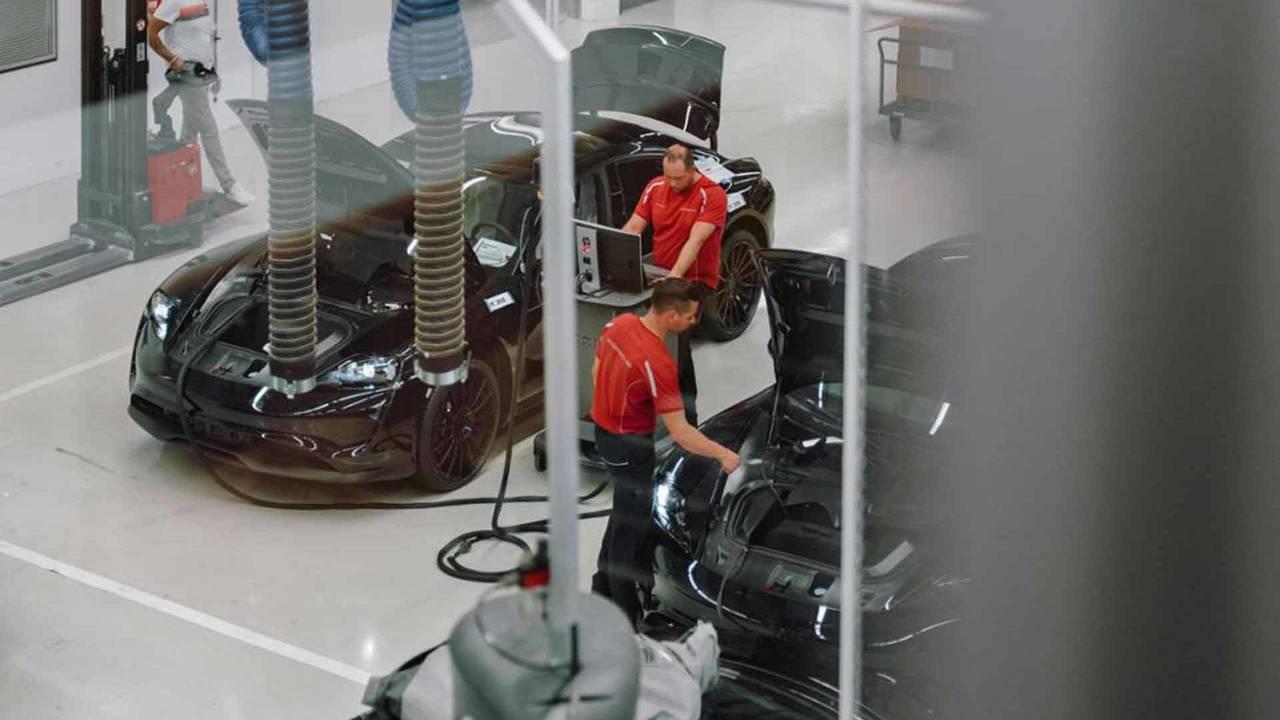 Porsche MIssion E Prototype de producción