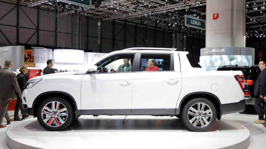 New Ssangyong pickup on show in Geneva
