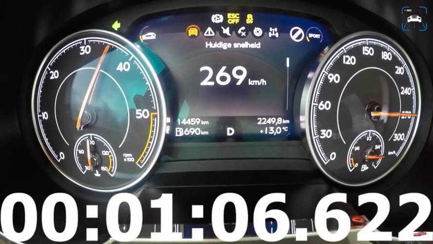 Watch The Bentley Bentayga Diesel Hit Its 168-MPH Top Speed