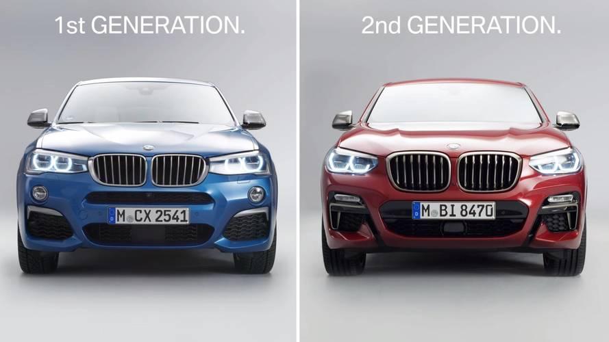BMW, yeni X4'ün dizayn değişikliklerini bir video ile gösterdi