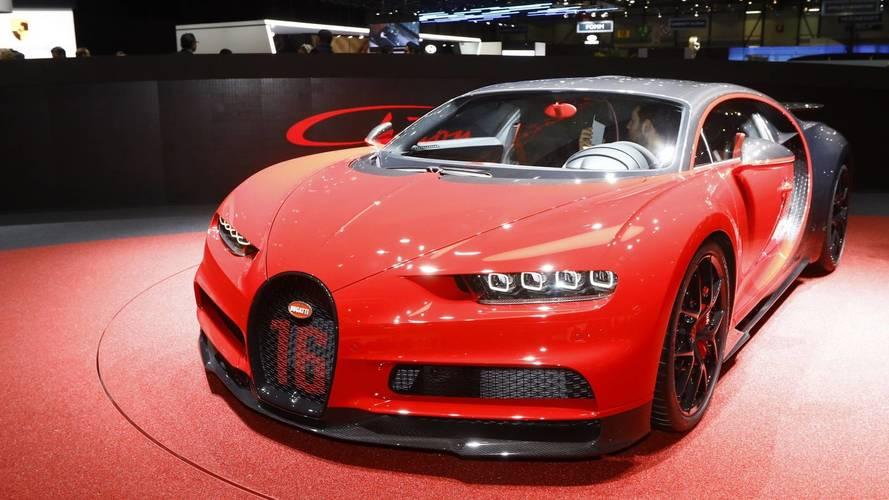 Bugatti patronu Chiron'un azami hızını ölçmeyeceklerini söyledi