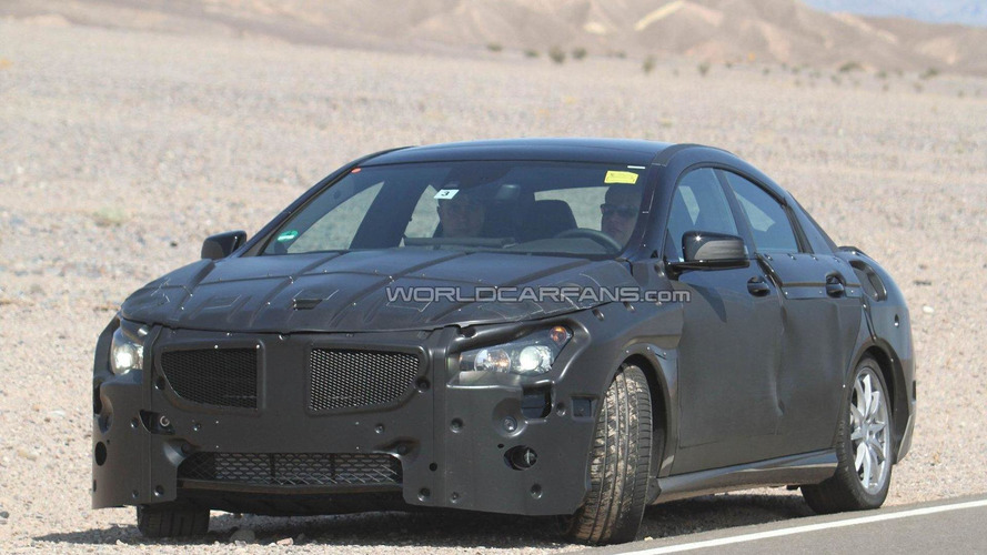 2013 Mercedes-Benz BLS/CLC (four-door coupe) prototype spied
