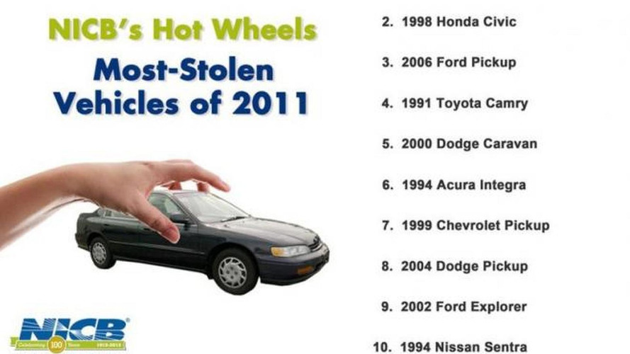 1994 Honda Accord was the most stolen car last year (US)