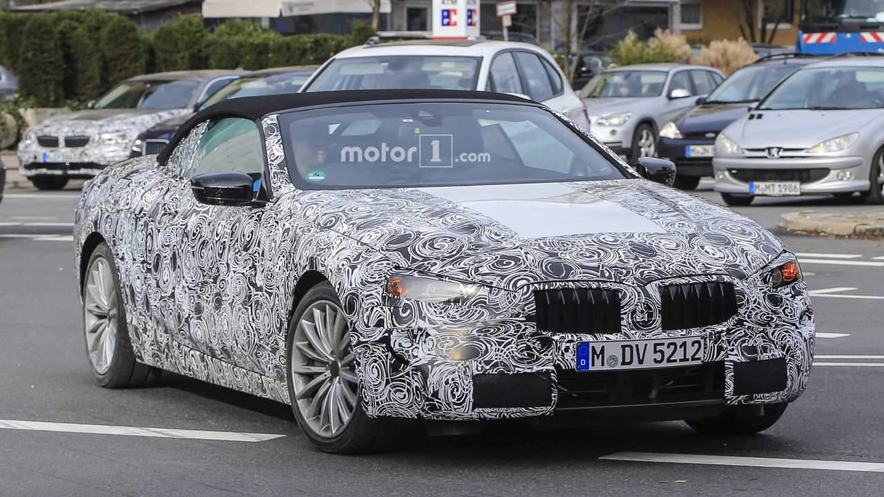 BMW 6 Serisi Convertible casus fotoğrafları