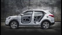 Anti-HRV, Hyundai Creta teve detalhes internos revelados em vídeo