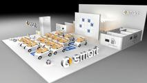 smart stand at Paris Motor Show 2006