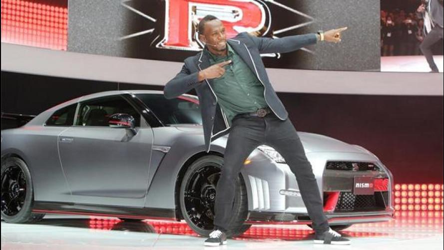 Nissan GT-R Nismo e Usain Bolt: più veloci di così non si può