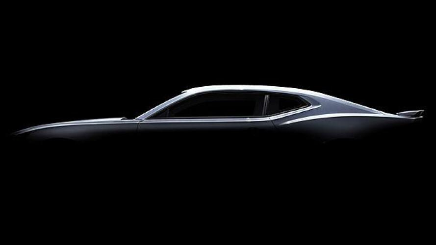 Nuova Chevrolet Camaro, eccola di profilo
