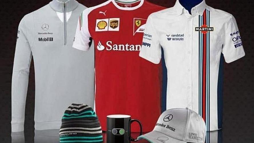 Martini-branded Williams team shirt emerges