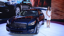 2015 Infiniti Q70L at 2014 New York Auto Show