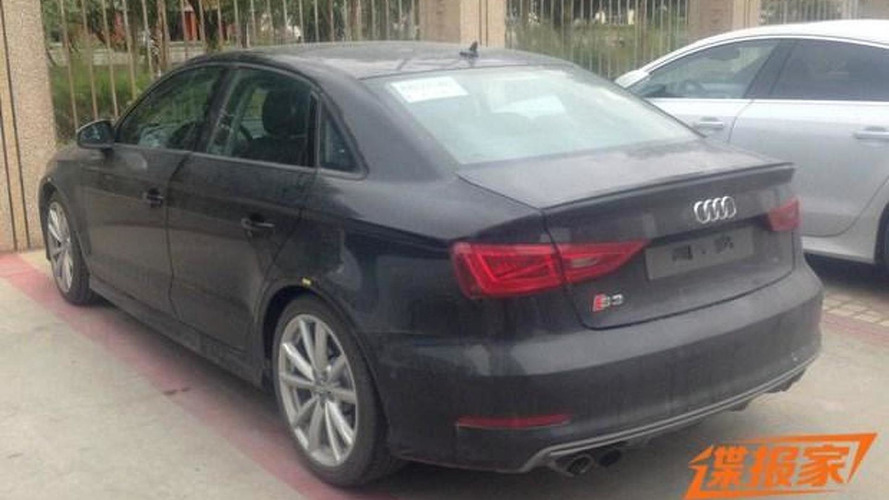 Audi S3 Sedan seen in China
