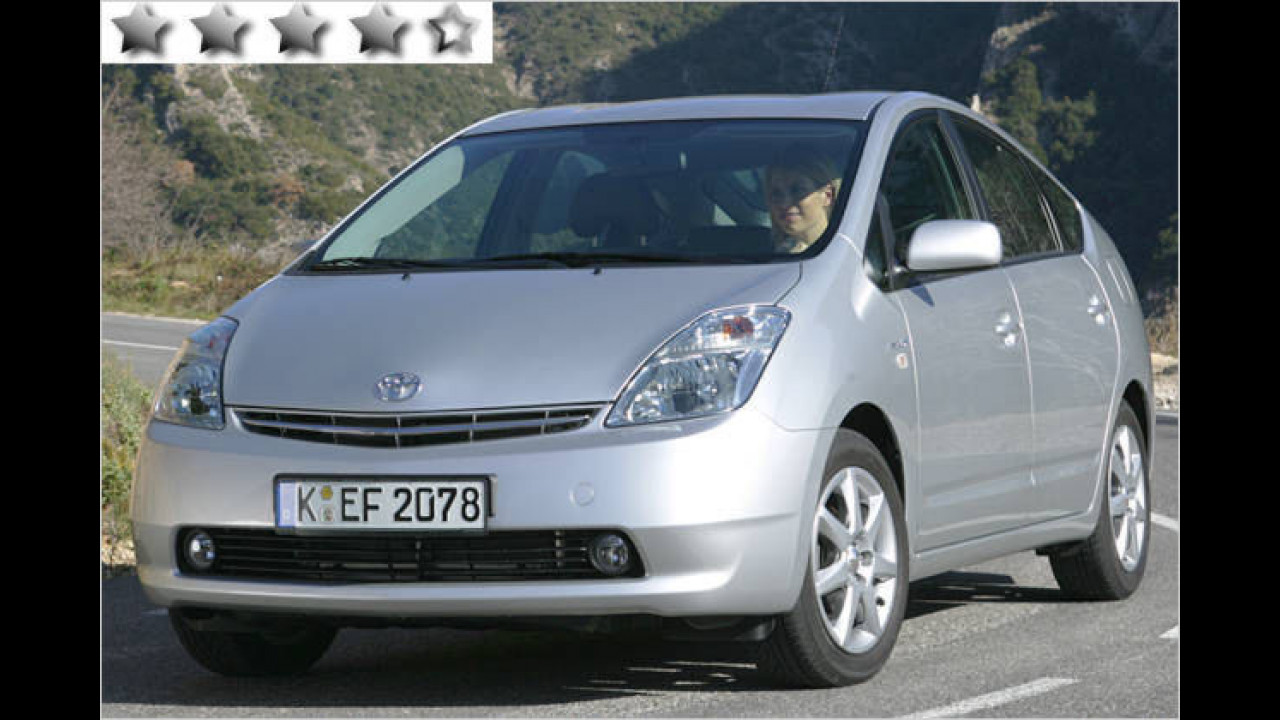 Toyota Prius 1.5 Hybrid: 89 Punkte