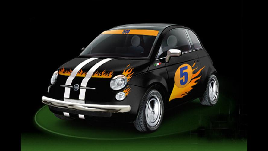 Fiat 500: Interaktive Website für Hobby-Autodesigner