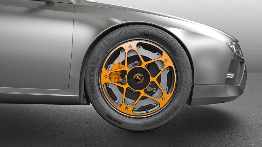 Continental Conjures Up Wheel And Brake Concept For EVs