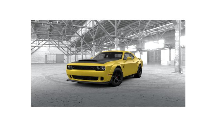 Configurez votre Dodge Challenger SRT Demon