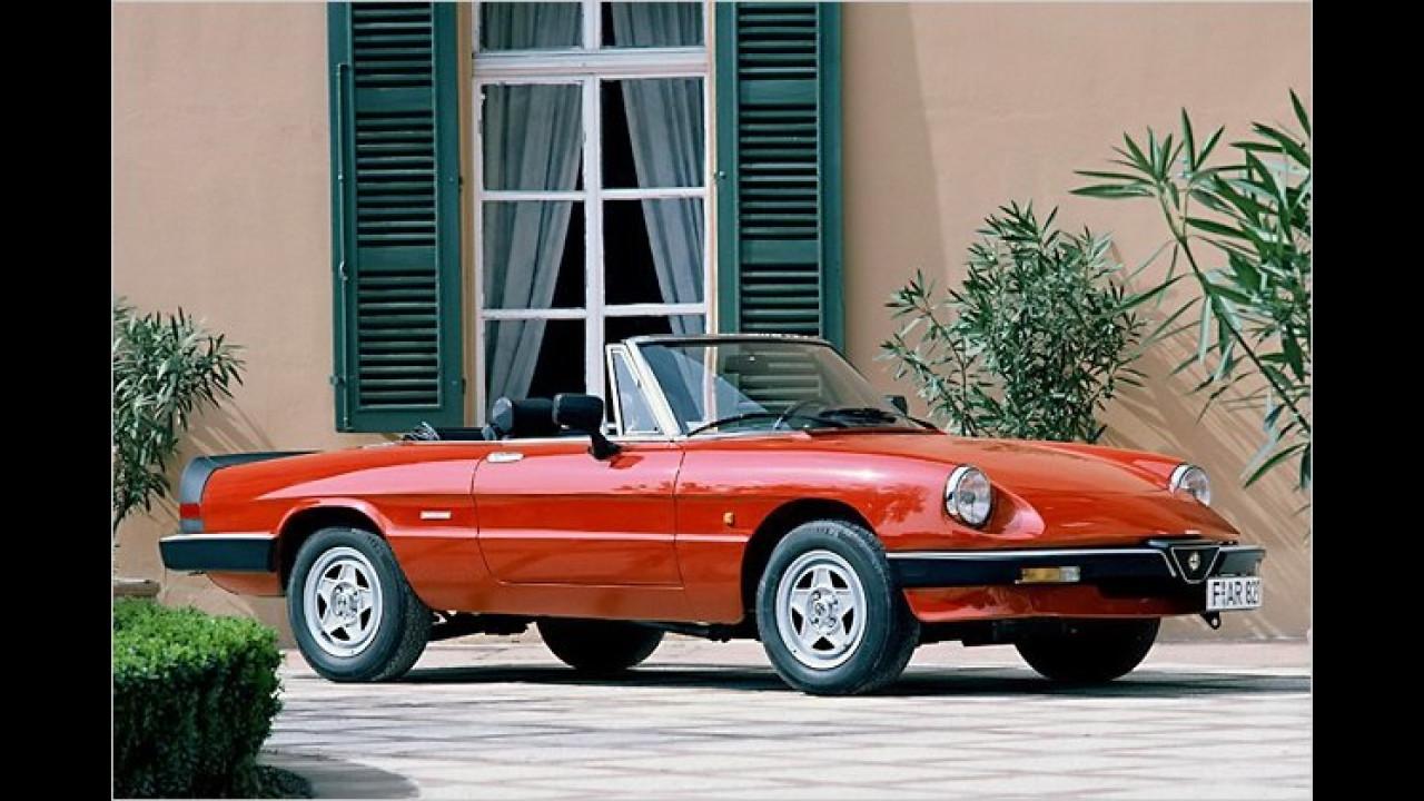 Platz 16: Alfa Romeo Spider (11,3 Prozent)