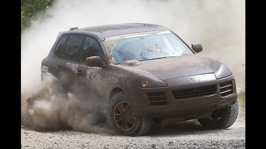 Porsche bei der Transsyberia: Nichts ist wie die Mongolei