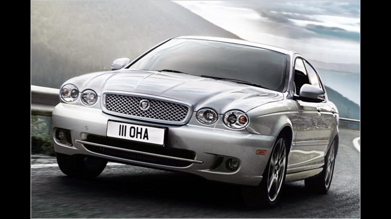 Mittelklasse, 3. Platz: Jaguar X-Type