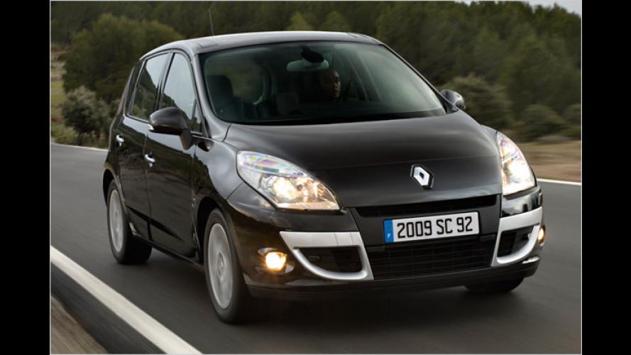 Renault: Günstiger Scénic-Einstieg