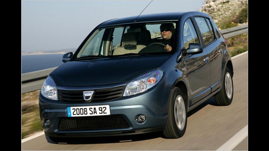 Dacia gibt Gas: Sandero mit Flüssiggasantrieb im Test