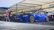 Subaru WRX STI at the Goodwood Festival of Speed