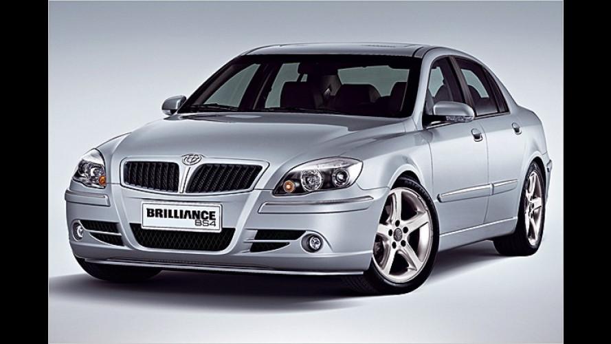 Brilliance BS4: China-Limousine mit italienischem Flair
