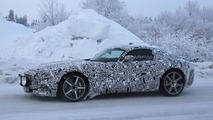 2015 Mercedes AMG GT spy photo