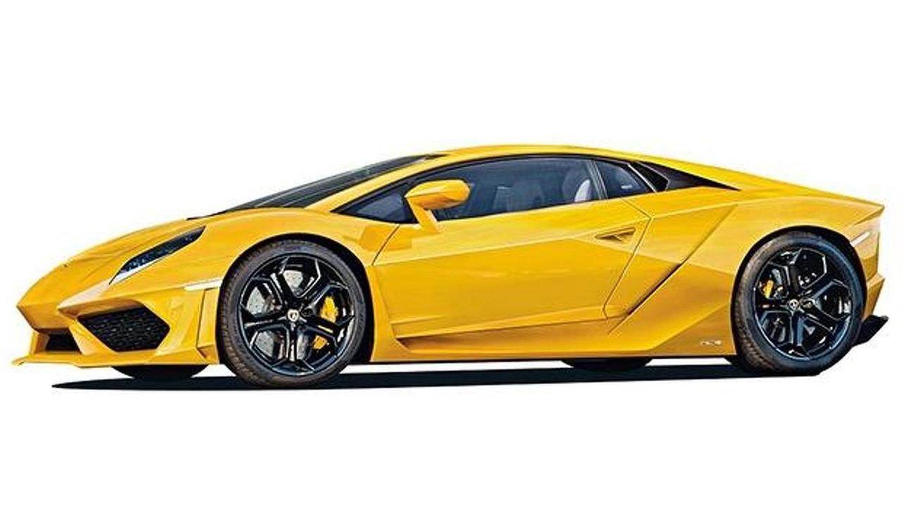Lamborghini Gallardo successor render