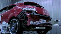 Renault Megane RS Trophy with Akrapovic exhaust
