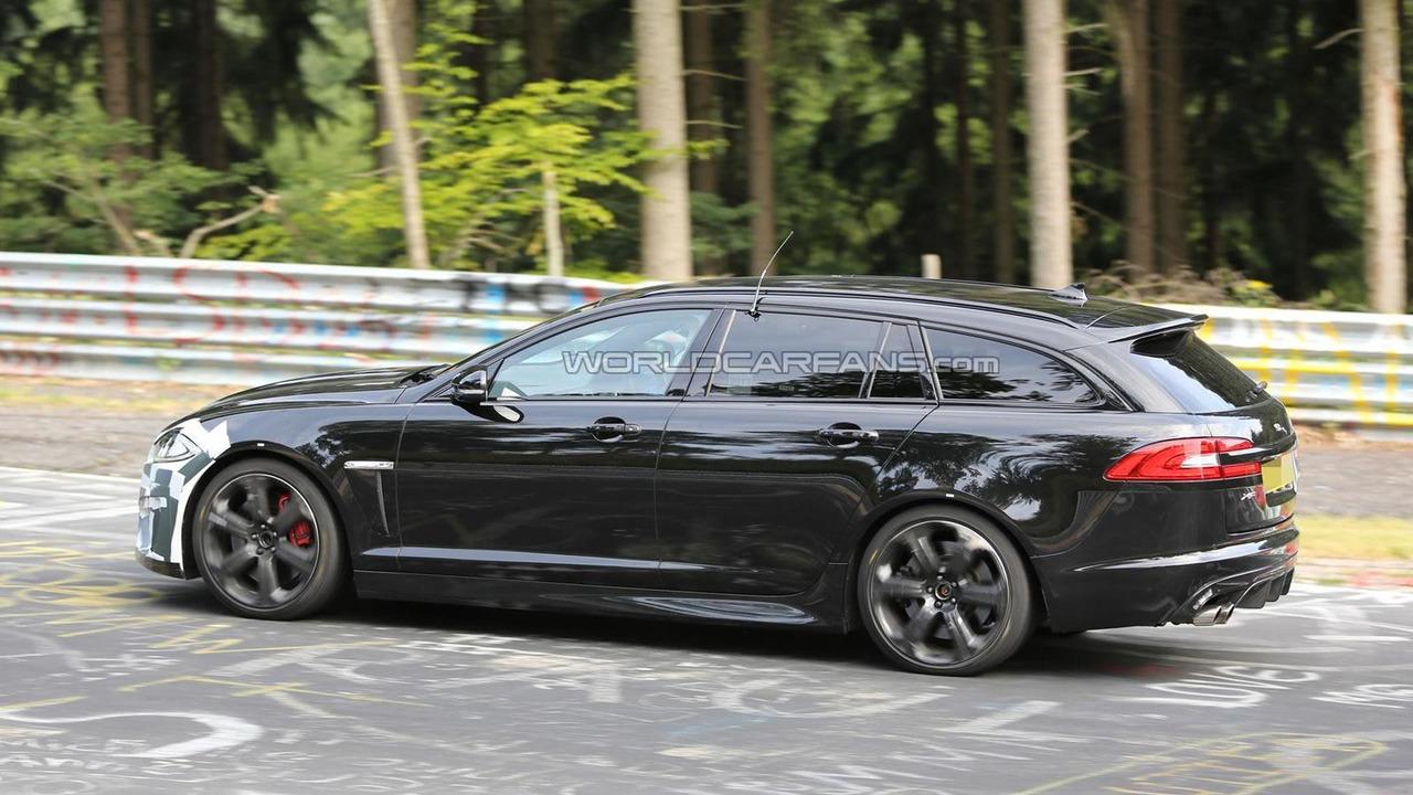 2014 Jaguar XFR-S Sportbrake spy photo 26.07.2013