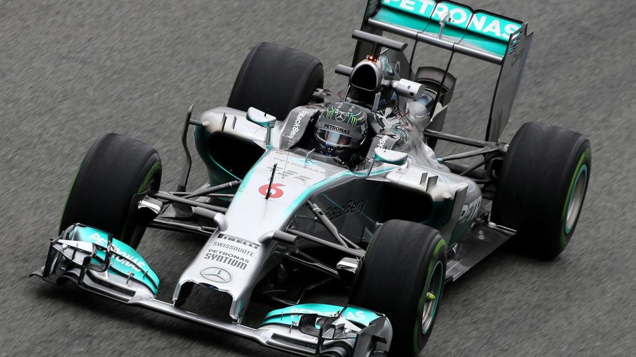 Nico Rosberg 31.01.2014 Formula One Testing Jerez Spain