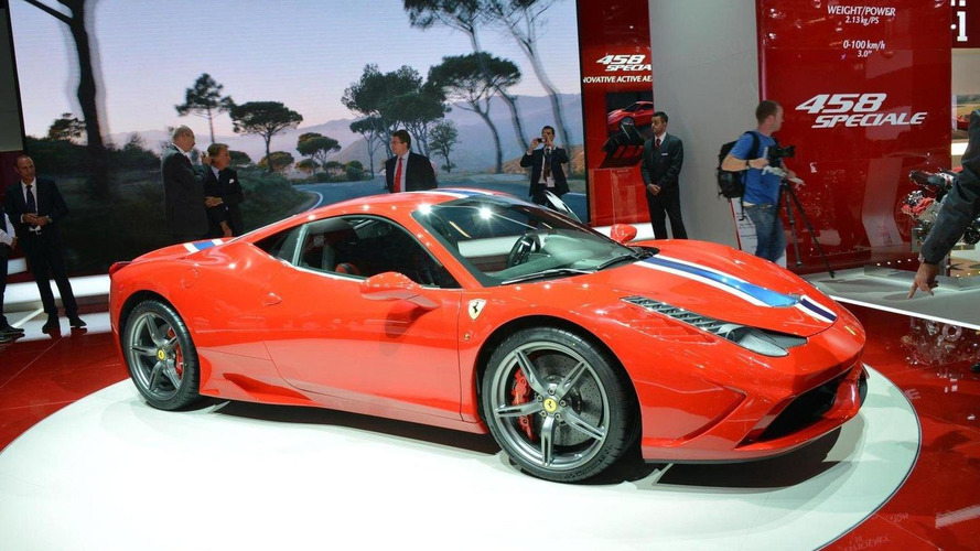 Ferrari 458 Speciale Spider production to be limited to 458 examples - report