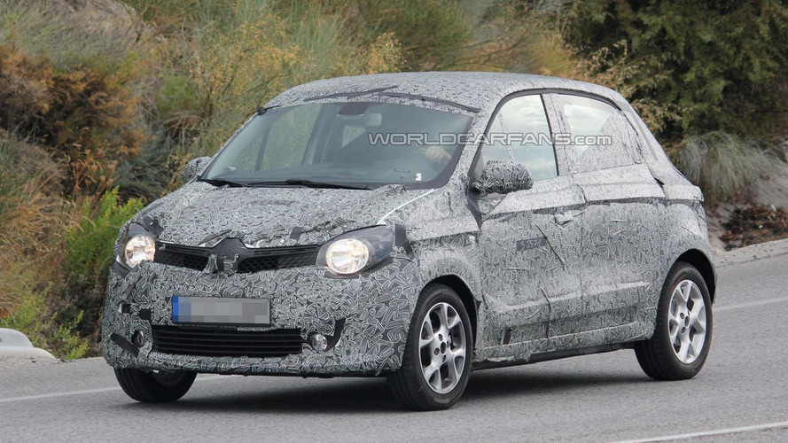 2015 Renault Twingo spied showing new details
