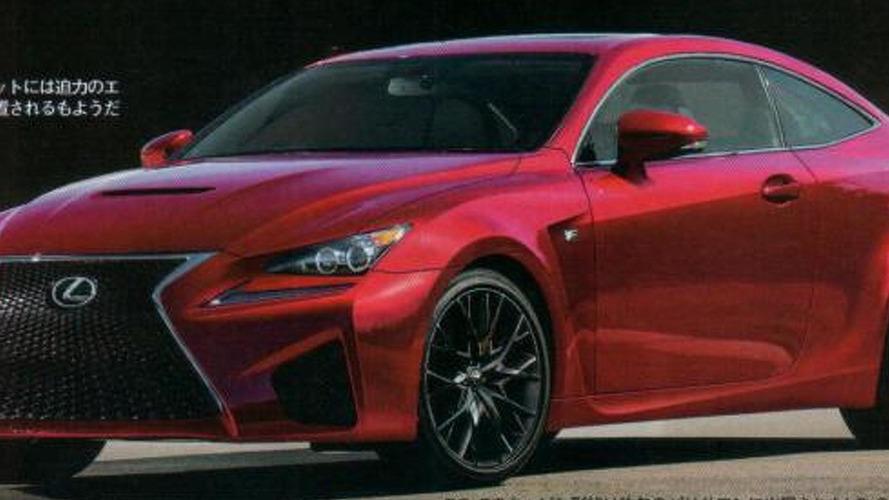 2014 Lexus RC F leaked?