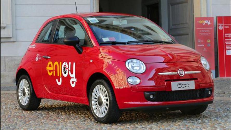 La disoccupazione traina il car sharing