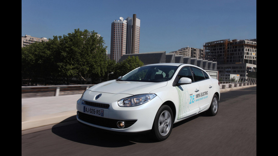 Renault Fluence Z.E. Elettrica comodità